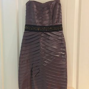 Bcbg size 2 purple bandage style cocktail dress